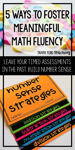 "Tanya's ""5 Steps to Building Meaningful Math Fluency"" outlines how she defines, teaches, and assesses math fluency. Each step provides details and examples of how you can start implementing meaningful math fluency in your classroom."