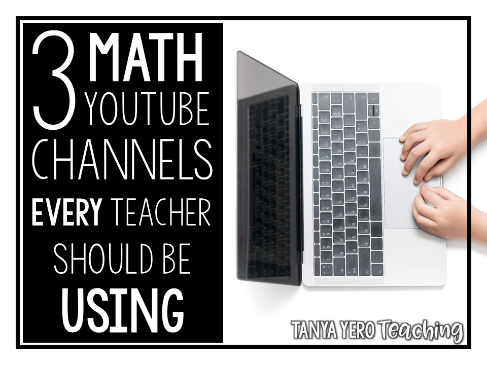 3 Math YouTube Channels Every Teacher Should Be Using