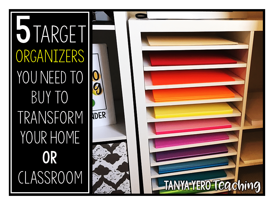 5 Organizers You Need to Buy at Target to Transform Your Home or Classroom