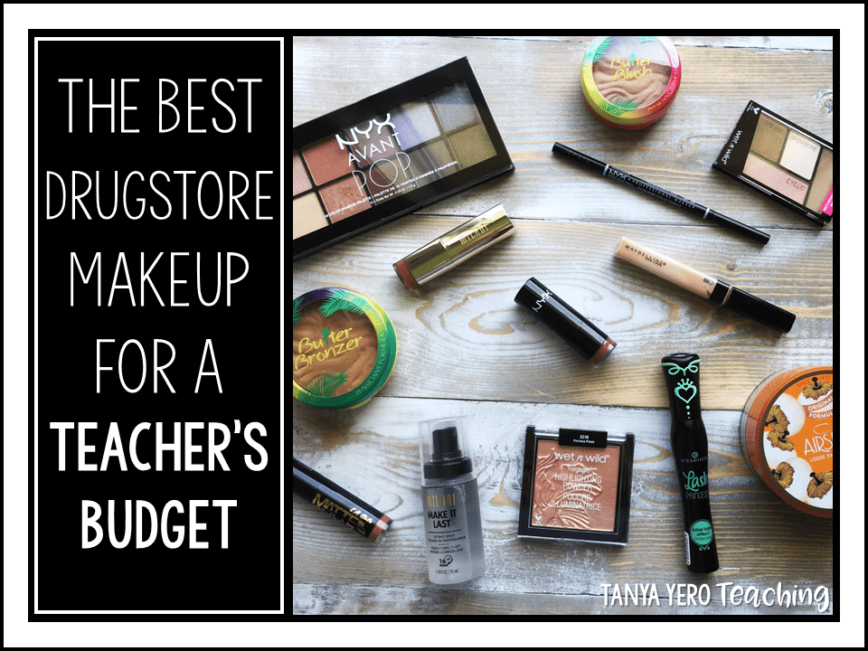 The Best Drugstore Makeup for a Teacher's Budget