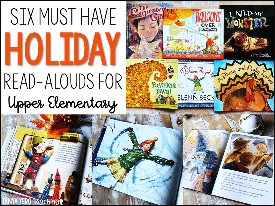 Six Holiday Read Alouds for Upper Elementary