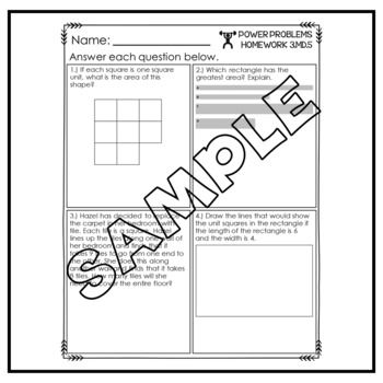 3rd Grade Math Word Problems Homework Printables Math Word Problems  Measurement