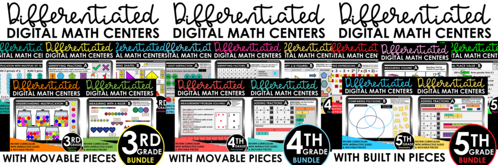 differentiated-math-centers